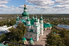 Trinity Monastery in Chernihiv, Ukraine, was reconstructed in 1649.