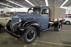 The initial Dodge VC-series military models had a lot in common with this 1939 T-series pickup