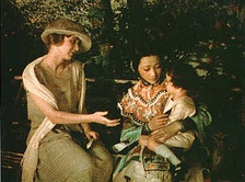 Frame from the Technicolor picture The Toll of the Sea (1922)