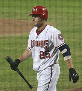 Kearns, with the Washington Nationals in 2007.