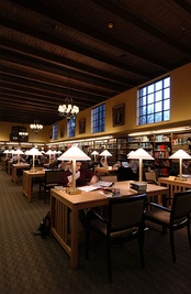 Ginn Library at the Fletcher School