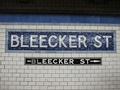 Pre-renovation Mosaic station tablets by Vickers