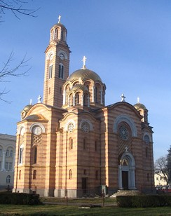 Cathedral of Christ the Saviour in Banja Luka