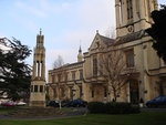 Cheltenham College (main block to road with Dining Hall and Chapel)