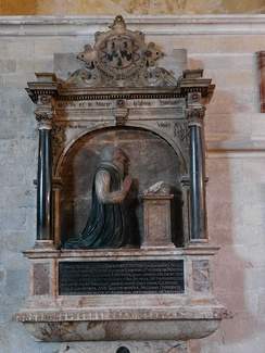 Mural monument to  Thomas Bickley, Chichester Cathedral