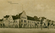 Hussar barracks in Krefeld, Germany, 1906