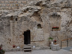 The Garden Tomb in Jerusalem – a new holy site established by British Protestants in the 19th century.
