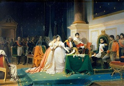 The Divorce of the Empress Josephine in 1809 by Henri Frédéric Schopin