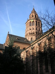 Mainz Cathedral, western main tower
