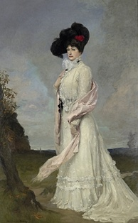 Portrait of Madame Melba by Rupert Bunny