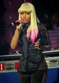 Minaj performing in New York City in 2010