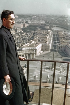 Romero in 1942 at the Vatican