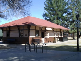 Peoria Railroad Depot – built in 1895.