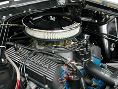 "289 cu in (4.7 L) Ford ""GT350"" Windsor V8 in a Shelby Mustang"