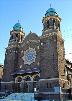 St. Stephen Hungarian Roman Catholic Church in Toledo, Ohio