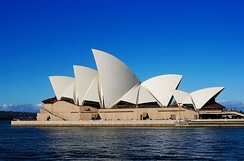 Sydney Opera House, designed by Architect Jørn Utzon and structural design by Ove Arup & Partners