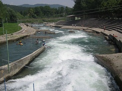 The Tacen Whitewater Course on the Sava