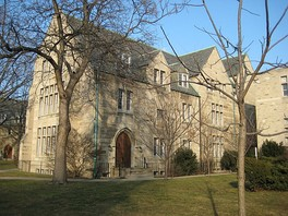 Teefy House, a residence hall of St. Michael's College, is home to female first-year undergraduate students.