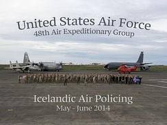 Icelandic Air Policing 2014 (USAFE-AFAFE group photo).