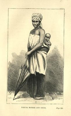 Yoruba mother and child, 1848