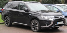 First facelift Mitsubishi Outlander PHEV