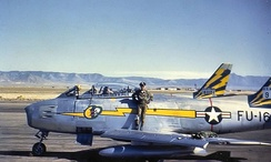 92d Fighter-Interceptor Squadron North American F-86A-5-NA Sabre - 49-1161