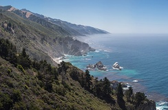 Central Californian Coastline, Big Sur