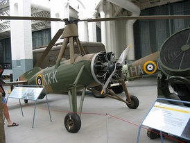 A Cierva C.30 (Rota Mk.I) of no. 529 Squadron, now at Duxford.