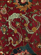 """Cloud band"" ornament of Chinese origin in a Persian carpet"