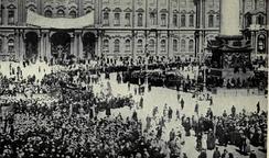 The Russian Revolution of 1917 began in Petrograd when the Bolsheviks stormed the Winter Palace