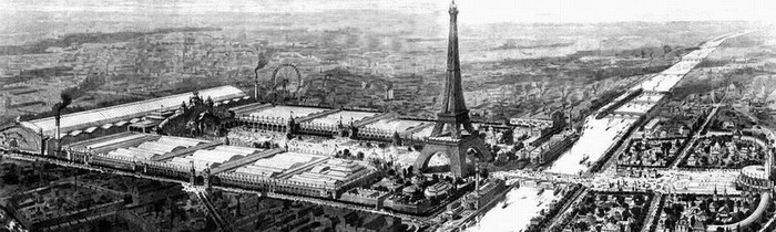 Illustration of Exposition Universelle, 1900.