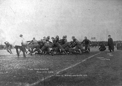 1902 football game between the University of Minnesota and the University of Michigan