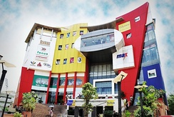 The Focus Mall, the first shopping mall of its kind in the State