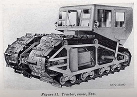T36 snow tractor