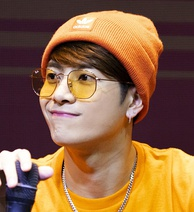 Hong Kong singer Jackson Wang from Got7 at a fansigning event in Yeouido