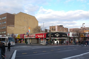 Jamaica Avenue and Sutphin Boulevard