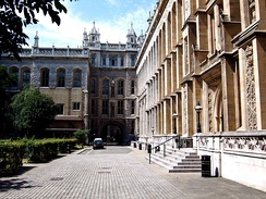 The Maughan Library, King's College London, located on Chancery Lane