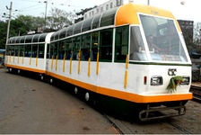 The Kolkata tram system is the oldest operating electric tram system in Asia