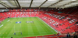 Wembley and Old Trafford host the two major domestic finals in England.