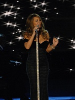 "Mariah Carey and Taylor Swift have the highest debut at number 12 with ""Dreamlover"" by Carey and ""Shake It Off"" by Swift"