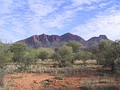 Mount Sonder, the fourth-highest mountain in the Northern Territory after nearby Mount Zeil, in West MacDonnell National Park