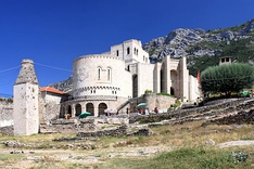 The medieval Castle of Krujë.