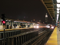 46th Street – Bliss Street subway station