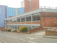 Plusnet offices in Burley, Leeds.