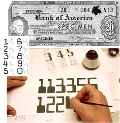 The ERMA system, which uses magnetic ink character recognition to process checks, was one of SRI's earliest developments.