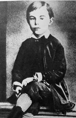 A young Alexander Scriabin (late 1870s)