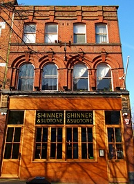 The Shinner and Sudtone pub on Sutton High Street