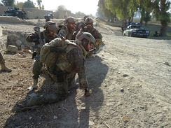 Slovak 5th Special Forces Regiment operating in eastern Afghanistan