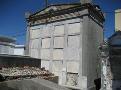 Oven Tombs of the Dieu Nous Protege Society at St. Louis Cemetery No. 1