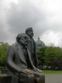 Statues of Marx and Engels, Marx-Engels-Forum